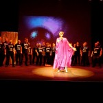 MLGC on stage with Kate O'Donnell as part of Big Girl's Blouse performance